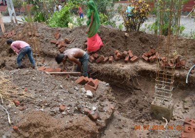 6Preparation of ground beam for new extension-2