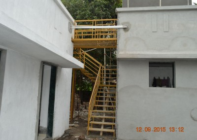 Stair for tarece