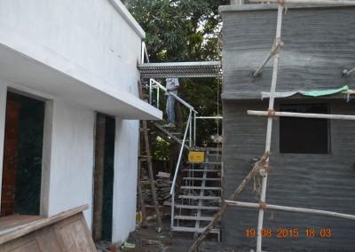 Staircase for terrece
