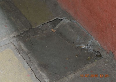 Damaged floor by Rats-4